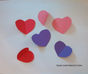 Teaching Your Children Valentine's Day is More Than Just Romance. #kids #emotional #development #easy #Valentine #craft #activity #toddler #preschooler Team-Cartwright.com