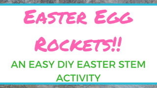 How To Make an Easy Easter Egg Rocket