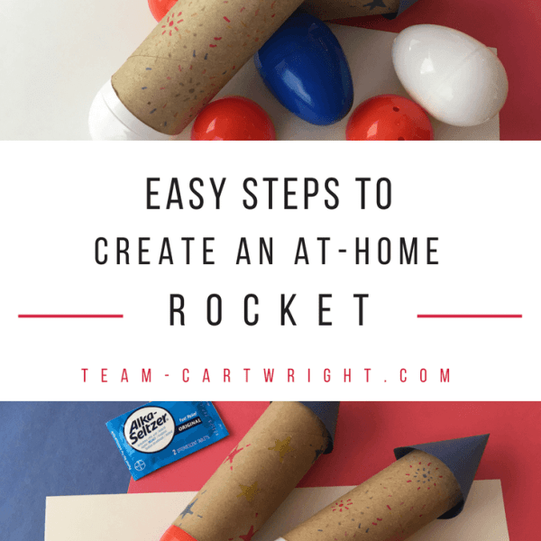 How To Make an Easy At-Home Rocket
