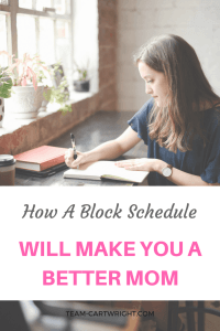 As busy moms we need to do it all. But can we? Realistically, probably not. But we can certainly do our best and utilizing a block schedule can help us fit in everything we need to do in a day. Learn what this is and how to build your blocks to maximize your daily efficiency. Prioritizing Tasks | Cleaning with kids | Daily Organizing | Busy Mom Help | Block Scheduling #cleaning #hack #schedule #organization #mom #busy Team-Cartwright.com
