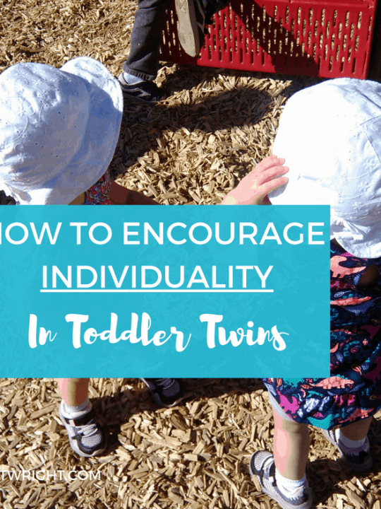 Twin parents know they need to treat their twins as individuals, not a unit. But having twin toddlers and one sole caregiver can make that tough. Here are ways to train yourself as a parent to recognize your twins as individuals and let your twins feel seen for who they really are. Twin Toddlers | Twins As Individuals | Parenting Twins | Encouraging individuality in twins #twins #toddlers #parenting #raising #individuals #encourage #individuality Team-Cartwright.com
