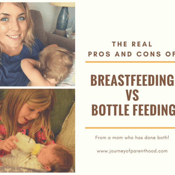 The Real Pros and Cons of Breastfeeding vs. Bottle Feeding {BFBN Week}