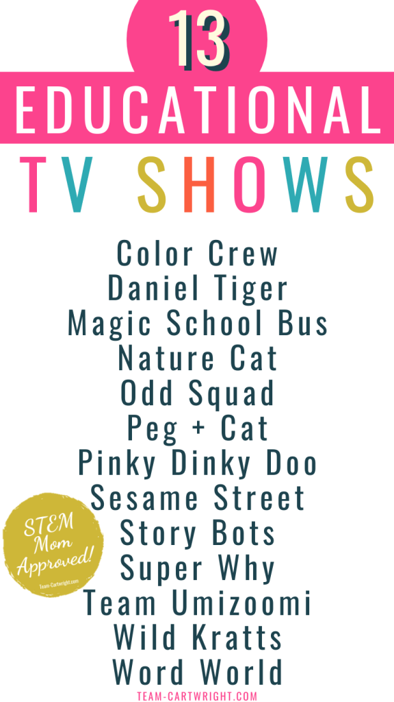 educational tv shows for toddlers and preschoolers