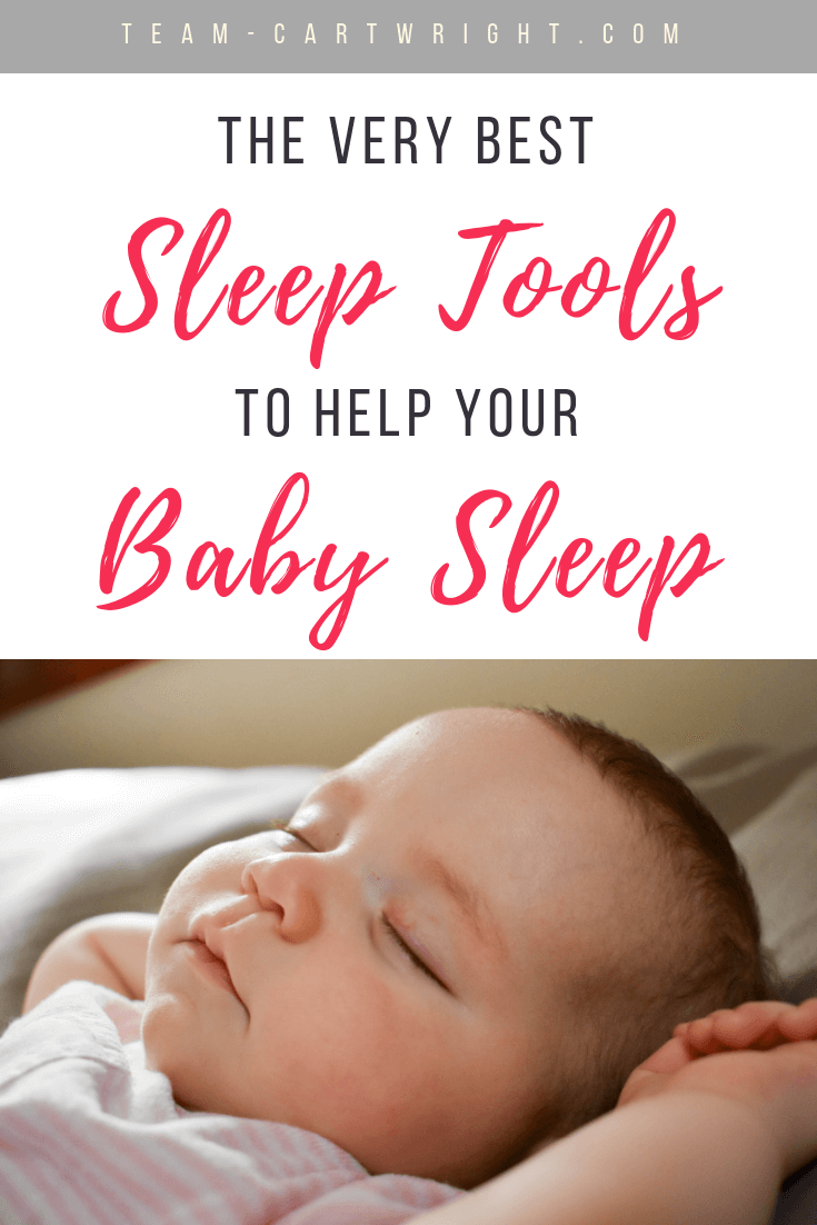 Helping your child sleep is so important! There are some great tools available to help your whole family get the rest they need. Here are the best sleep tools available. This list was put together by 8 moms (with 29 kids total!) who love sleep and know what they are talking about. #SleepProps #SleepTools #BabySleepTips #SleepTIps #BabySleep #NewbornSleep #SoundMachine #Pacifier #BlackOutCurtains #Swaddles Team-Cartwright.com