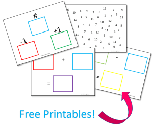 Free printables to teach number sense! Help your children learn the meaning of numbers and boost their math skills. #number #skills #counting #sense #leaning #preschool #toddler #printable Team-Cartwright.com