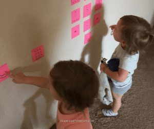 Teach your child to call 911 with this easy and fun activity! No phone needed until they are ready. #911 #safety #emergency #learning #activity #kids #toddler #preschool Team-Cartwright.com