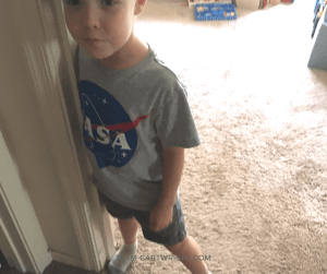 Put one foot against a wall and try to lift the other. You can't. Learn why and get more fun and easy human body science experiments to wow your kids! #STEM #science #learning #activity #kids #preschool #easy #body #tricks Team-Cartwright.com
