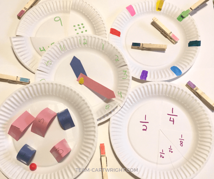 Do a Lot with a Little: Simple Paper Plate Learning Activities for Preschoolers and Toddlers