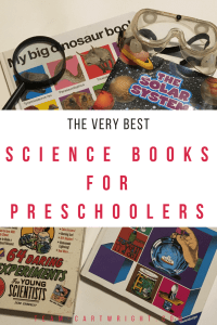 The best science books for preschoolers. Everything from life science to science projects, dinosaurs to space. Get the best books for your toddler or preschool to help explore their interests or introduce them to something new! #sciencebooks #sciencebooksforkids #STEMbooks #STEMpreschool #2yearolds #3yearolds #4yearolds #5yearolds #sciencelibrary #learningbooks #preschoolbooks #toddlerbooks Team-Cartwright.com