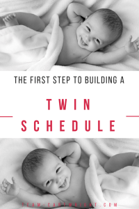 The first step to getting your twins on a schedule? The daily wake time. This is key to getting your days to fall into a consistent routine. Here is how to set a daily wake time with twins. #dailywaketime #schedule #babywise #babywiseschedule #twins #twinschedule #newborntwins #babytwins Team-Cartwright.com