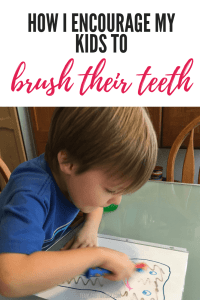 How I encourage my kids to brush their teeth. Easy and fun activities to take away any fear and help your children learn how to brush their teeth. #toddler #preschool #learningactivity #toothbrushing #brushteeth #dentalcareforkids #oralhygieneforkids Team-Cartwright.com