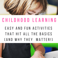 Childhood Learning Basics