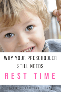 Rest time for preschoolers. Why your preschooler still needs quiet time during the day and activities to try during it. #rest #restime #quiettime #preschooler #toddler #schedule #activities Team-Cartwright.com