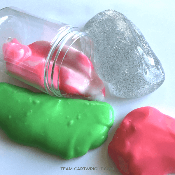 Christmas Slime For Kids! Holiday Sensory STEM