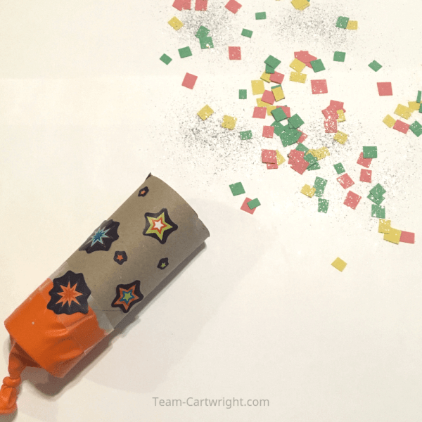 DIY Confetti Poppers for Kids!