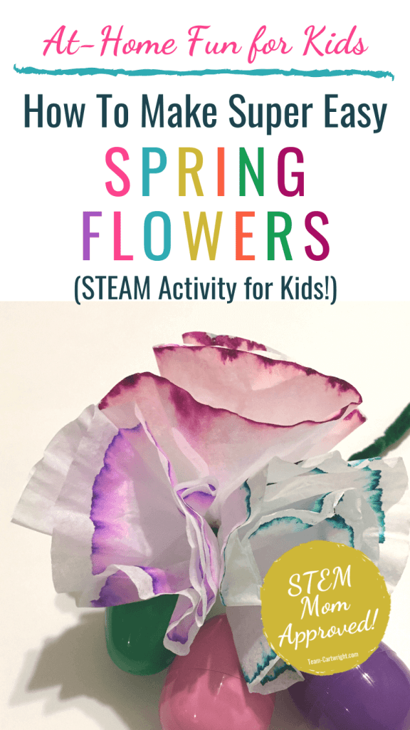How To Make Easy Spring Flowers STEAM Activity for Kids