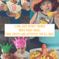 5 Easy Disney Movie Themed Nights