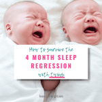 4 Month Sleep Regression with Twins: The Survival Guide
