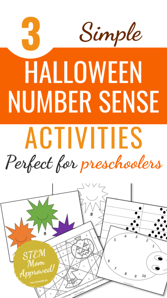 3 Simple Halloween Number Sense Activities