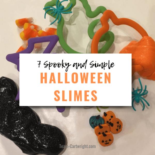 Easy Halloween Slime: 7 Spooky Sensory STEM Activities
