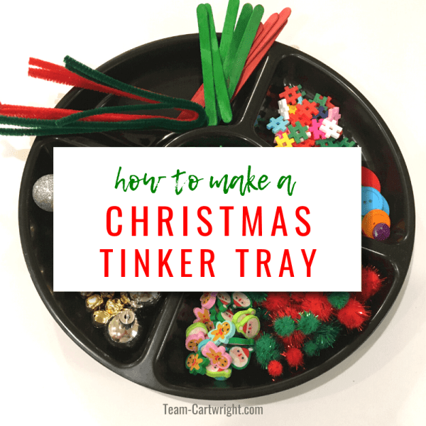 Christmas Tree Tinker Tray Engineering Challenge