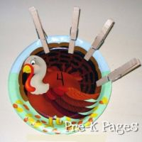 Turkey Math Activities | Thanksgiving | Preschool