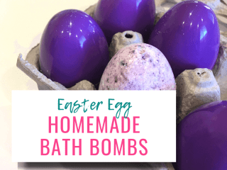 Easter Egg Bath Bombs