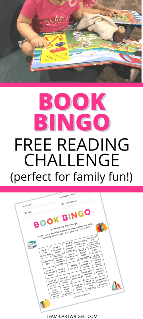 Book Bingo Free Reading Challenge Perfect for Family Fun