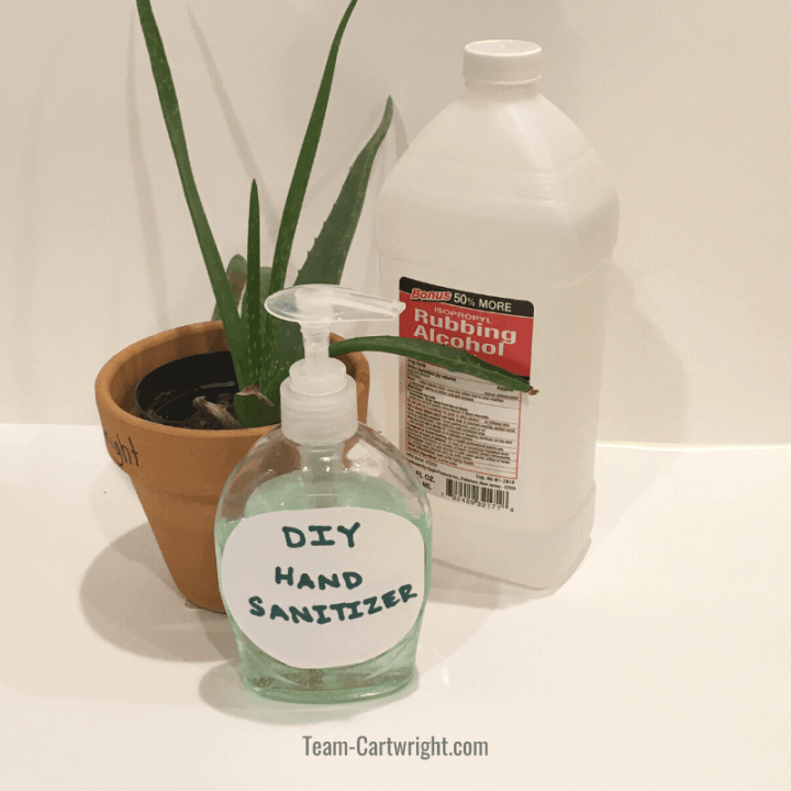How To Make DIY Hand Sanitizer and the Science Behind it