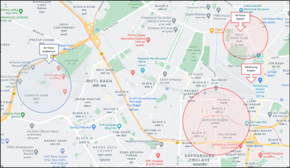 APT36-Subroto Park in Relation to Victim Clusters