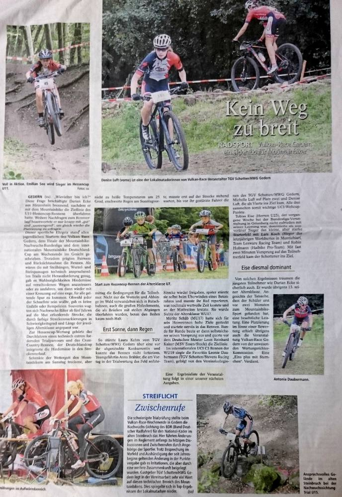 Presse - Vulkan-Race