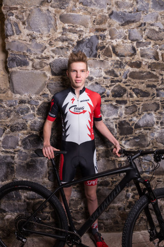 Team HWG Gedern Rico Libesch bike
