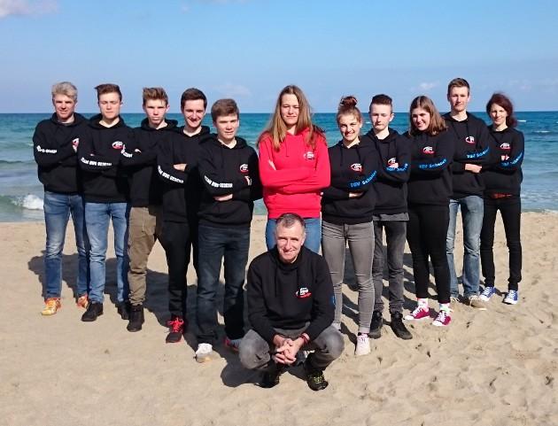 Trainingslager Mallorca 2017 Team HWG Gedern