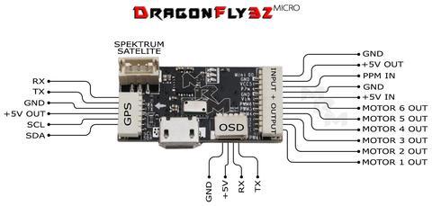 DragonFly32 Micro (Naze32)