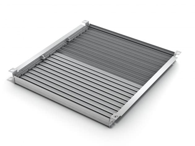 Dual-zone Opposed Blade Airflow Control Dampers