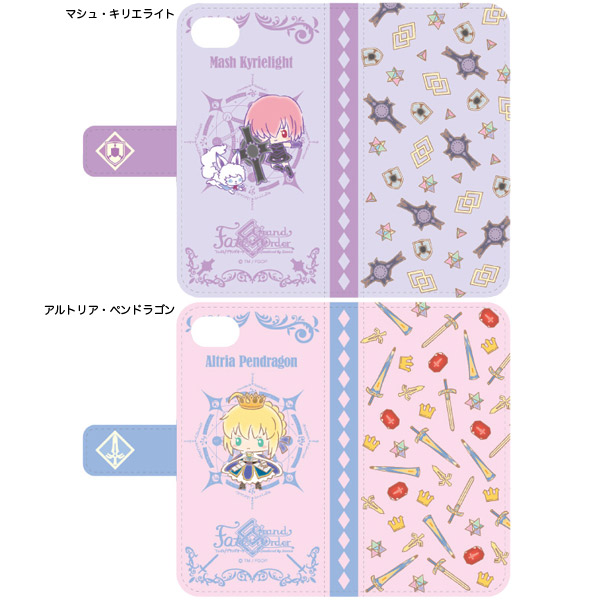 『Fate/Grand Order Design produced by Sanrio 手帳型iPhoneケース(6,6s,7,8対応) 』
