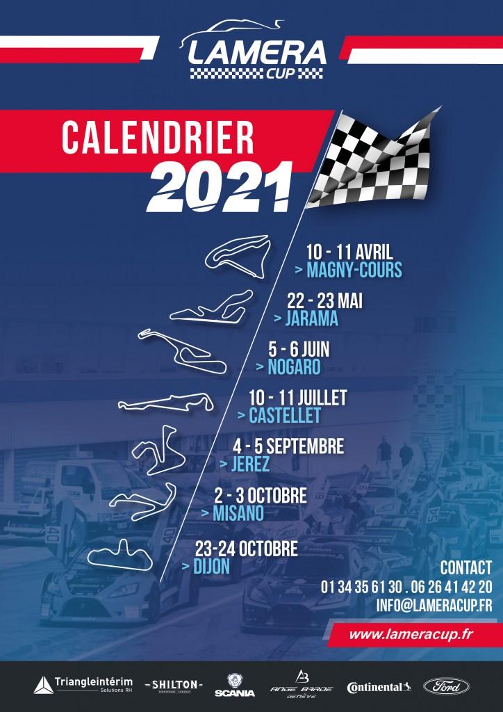 Calendrier 2021 LameraCup