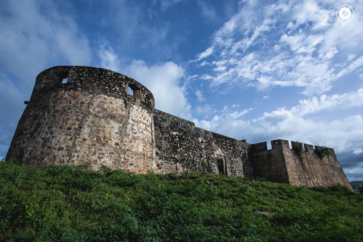 External view of Fort Kormantin