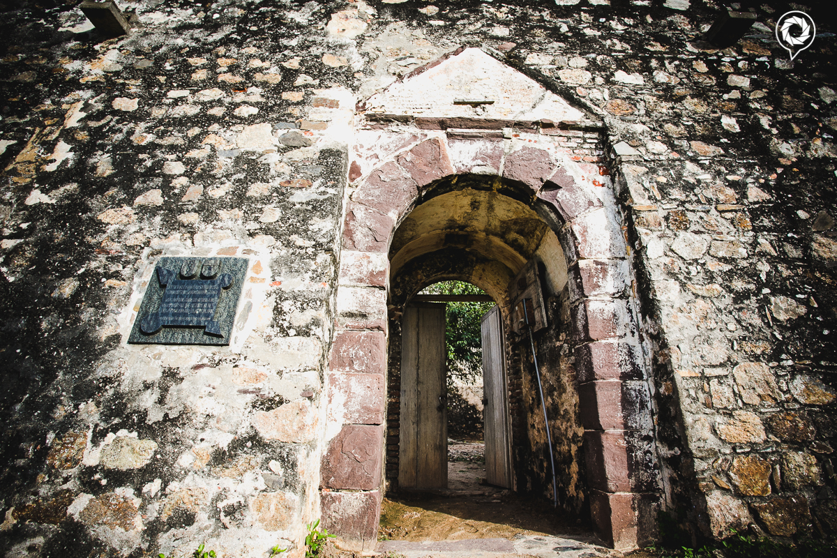 Main entrance into the fort.