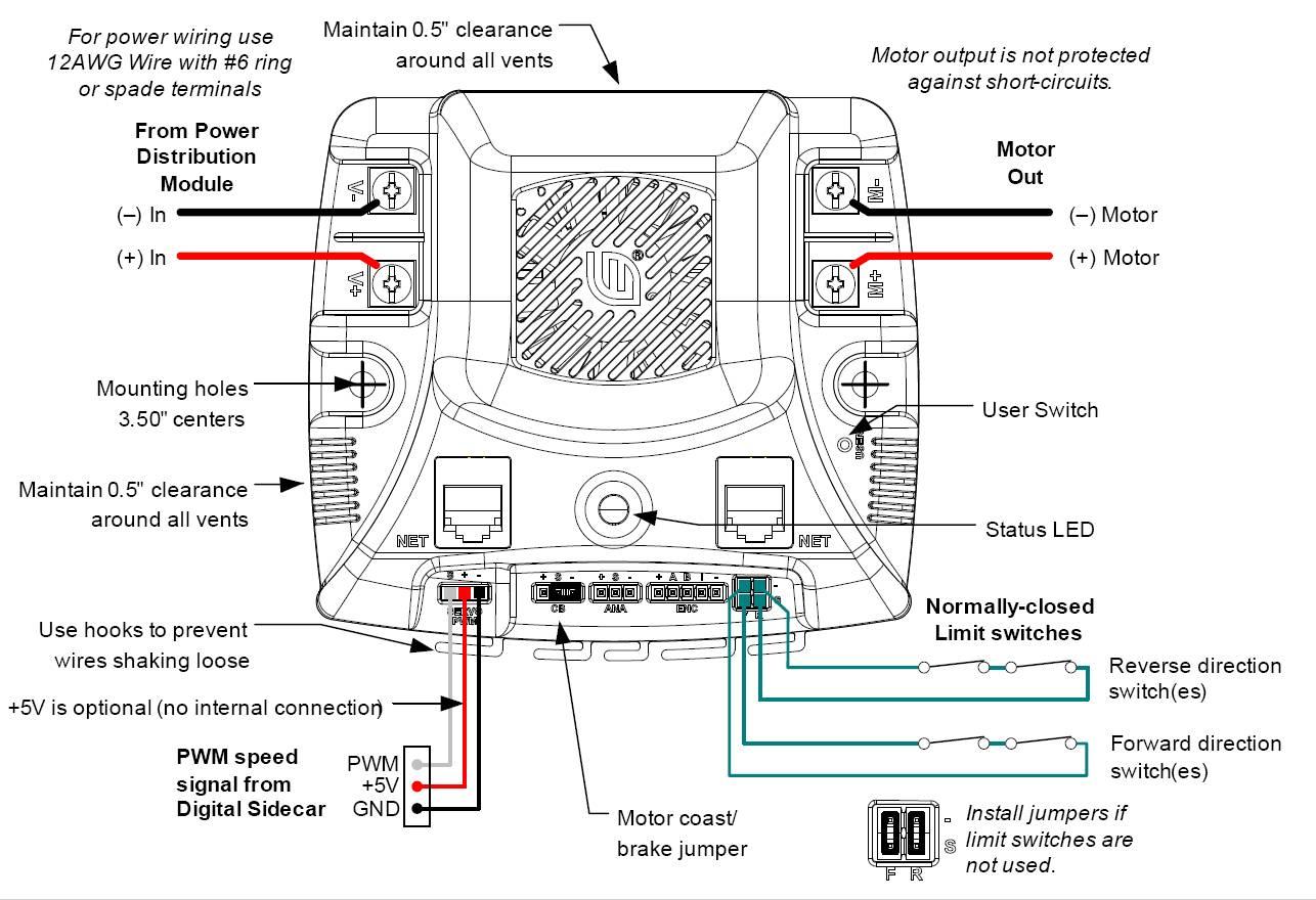 first robotics wiring diagram
