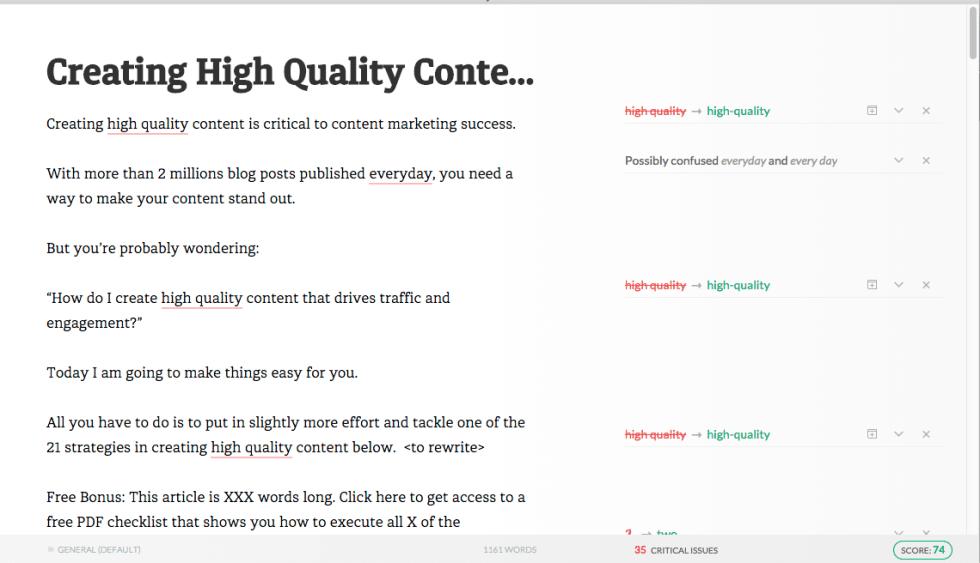 Grammarly Screenshot