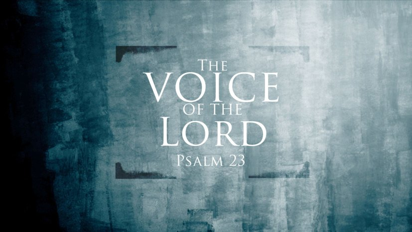 Image result for The Voice of The Lord
