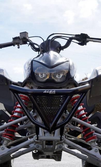 Honda Trx 400ex Intimidator Front Bumper Black Or Silver