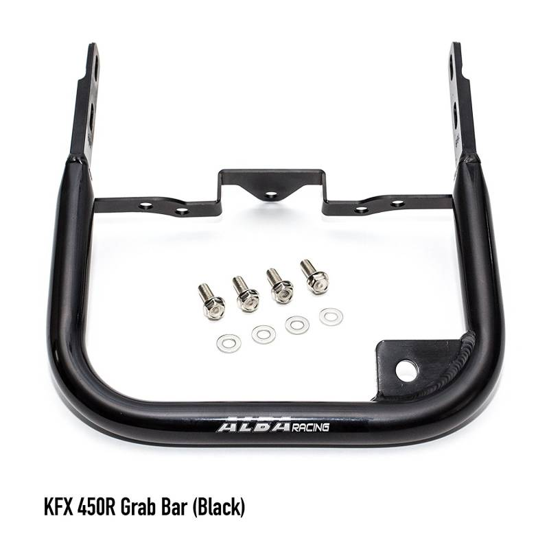 Kawasaki KFX 450R Grab Bar Bumper (Black or Silver)