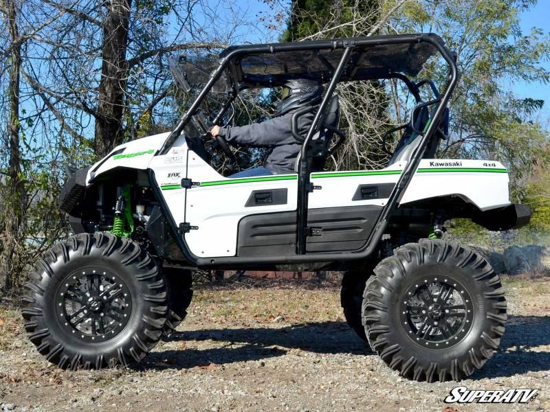Superatv Kawasaki Teryx 4 Heavy Duty Nerf Bars