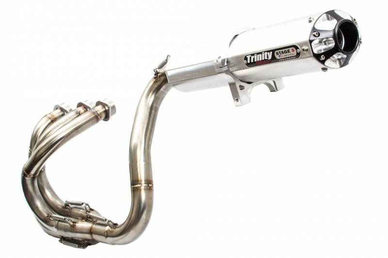trinity racing yxz 1000r full exhaust