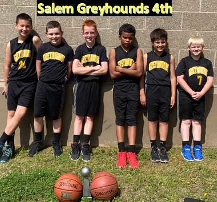 Salem Greyhounds 4th Boys