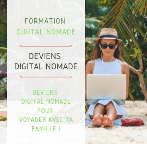 Devenez digital nomade