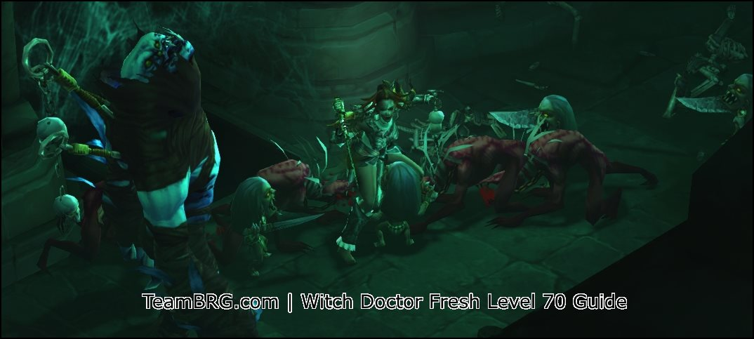 D3 Witch Doctor Fresh Level 70 Guide Season 18  266