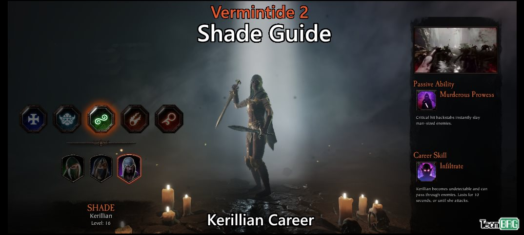 Vermintide 2: Shade Career – Talents. Builds Guide   Team BRG